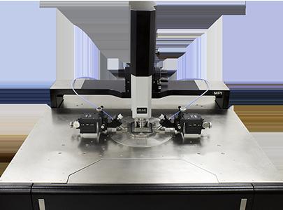 TS300-SE Probe System Platen shaded